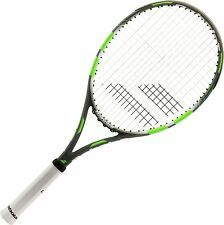 Babolat Flow Lite Tennis Racket - Grey & Lime - CLEARANCE