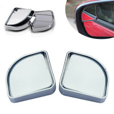2Pcs New Wide Angle Sector Plane Convex Car Vehicle Mirror Rearview Blind Spot