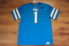 CAM NEWTON CAROLINA PANTHERS NEW NFL DOUBLE OPTION REVERSIBLE JERSEY