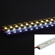 5PCS 50CM 7W 36 SMD 5630 LED Rigid Strip Light LED Hard Bar Lamp U Shape DC12V
