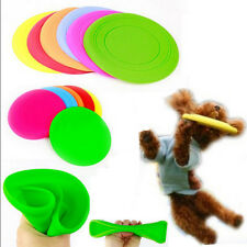 Cool Large Pet Dog Training Tool Flying Disc Tooth Resistant Fetch Toy Frisbee