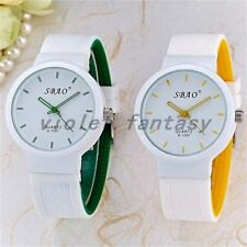 New Fashion Jelly Silicone Watch Men And Women And Children's  Silicone Watch