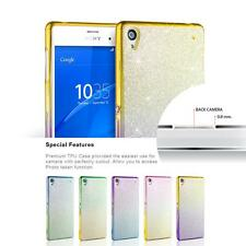 New Luxury Glitter Bling Bling TPU Silicone Case Cover For Sony Xperia Models