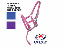 Derby Adjustable Suckling, Weanling Nylon Horse Halters Lot of 3 or 6 - 78% Off!