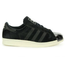 Adidas Unisex Superstar 80's Metal Toe Pony Hair Black Shoes B26314 NEW!