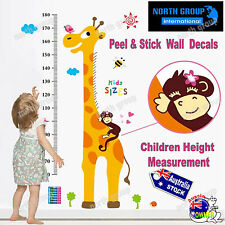 DIY Cartoon Wall Sticker Removable Art Vinyl Decal Kids Nursery Room Home Decor