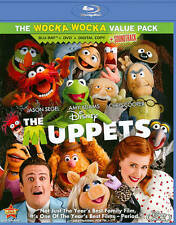 The Muppets  (Blu-ray / DVD, 2012, 3-Disc Set, Includes Digital Copy)  New