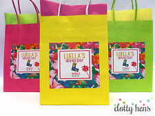 HEN NIGHT PARTY BAG FILLED HAWAIIAN TROPICAL PERSONALISED GIFT BAGS ACCESSORIES
