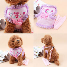 Popular Pet Control Lace Harness Dog Puppy Cat Strap Soft Walking Collar Vest
