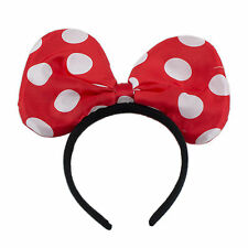 Minnie Mouse Inspired Polka Dot Big Bow Headband Light up Available in 3 Colors