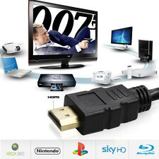 Ultra HD Premium HDMI Cable V1.4 3D High Speed Ethernet Audio Video Gold Plated