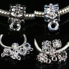 Silver Plated /18KGP Connector Link Fit Charms Bracelet Finding Crafts Jewelry