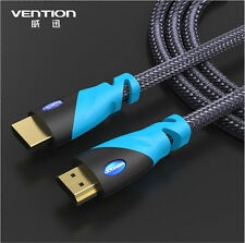 Vention V1.4 Premium Gold HDMI High-Speed Video Cable for LCD HDTV 3D PS3 Xbox