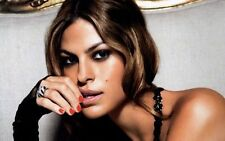 Eva Mendes Sexy Movie Actor Star Art Print poster (21x13inch) Decor 05