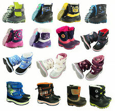 TOP Boys Girls Winter Boots Boots Shoes Cuddly Warm NEW