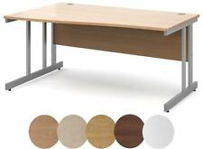 Momento Wooden Left Hand Wave Desk - FREE DELIVERY