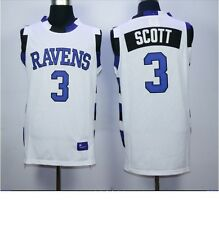 Lucas SCOTT 3 ONE TREE HILL RAVENS  JERSEY BLACK Basketball Size S-3XL new
