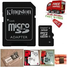 Micro SD Card Digital Flash Memory 4 8 16 32 GB Free Adapter For Camera Tablet