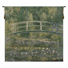 Bridge At Giverny by Monet European Tapestry Wall Hanging