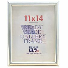 Deluxe Silver Poster Frame Picture Frame - 15 Sizes to Choose From