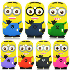 "3D Cartoon Minions Shockproof Silicone Cases Cover For Samsung Galaxy 7"" Tablets"