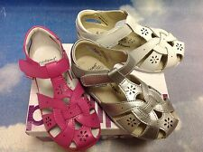 Pediped Flex Nikki Velcro Leather Sandals Size 24-30 US Toddler Size 8-13