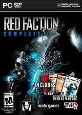 Red Faction Complete (PC, 2014)dvd, game,computer,pc,windows7 xp,war games