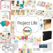 Becky Higgins Project Life. Value Kit, Themed Specialty Cards, Paper, Album