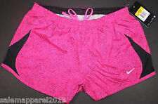 NIKE WOMEN'S DRI-FIT TEMPO RUNNING SHORTS STYLE # 575097 - PINK - NEW WITH TAGS