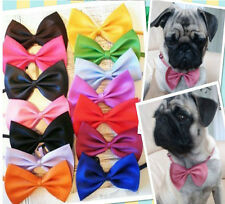 lot 10/100 pcs Cute Dog Cat Pet Toy Bow Tie Necktie Bowties Collar Clothes out