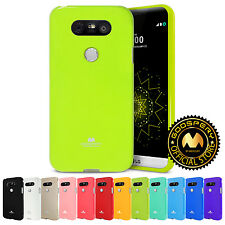 For LG G5 Case, [Slim Fit] MERCURY® Pearl Jelly Shockproof TPU Bumper Case Cover