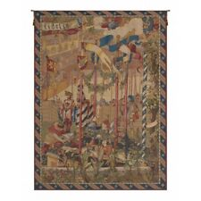 La Joute French Tapestry Wall Hanging