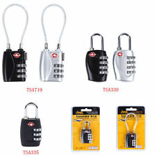 TSA 3&4 Digit Combination Luggage Suitcase Security Travel Cable Lock Padlock