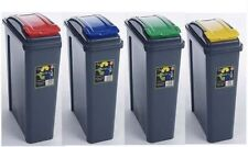 PLASTIC RECYCLING BIN GARDEN 20 25 LITRE KITCHEN WASTE RUBBISH RECYCLE HOME NEW