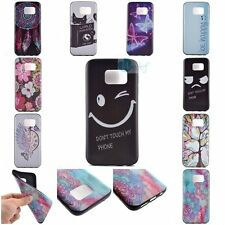 Fashion Words Rubber THIN SOFT TPU Back Cover Case Skin For Samsung Galaxy Model