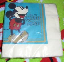 Package of Mickey Mouse paper napkins Party Express Disney Hallmark Cards NIP