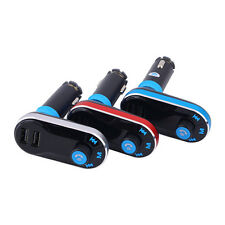 Bluetooth Car Kit Charger MP3 Player FM Transmitter for iPhone6/6Plus Samsung QD