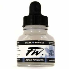 Daler Rowney FW Acrylic Artists Ink Different Shimmer Colours 29.5 ml Painting