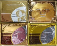 4 Kinds, Gold /Red Wine /Pearl /Transparent HA Collagen Face Facial Masks