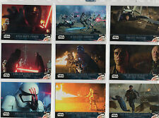 Star Wars The Force Awakens Series 2  -  Base Chase & Parallel Set Selection