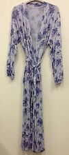 LONG LENGTH  EX STORE JERSEY DRESSING GOWN/ROBE UK SIZES 8/10,10/12, 12/14