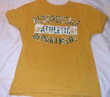 AEROPOSTALE ADULT MENS T SHIRT SMALL GRAPHIC S T-SHIRT Authentic Yellow Green SS