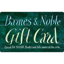 $50 / $100 Barnes & Noble Gift Card - FREE Mail Delivery