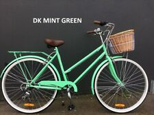 Samson Cycles 7-speed Vintage Ladies Bikes MINT GREEN with free lights and lock