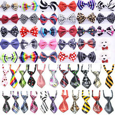 10-200 PCS Lot Pet Bow Tie Dog Collar Bow Neck Ties  Puppy Accessories 66 Model