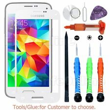 Replacement Outer Front Screen Glass Lens For Samsung Galaxy S5 White Tools Glue