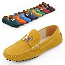 New Mens Casual Slip On Driving Moccasin Leather Loafer Comfortable Shoes Suede