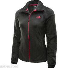 THE NORTH FACE OSITO 2 JACKET ASPHALT GREY PINK SILEN FLEECE NEW AUTHENTIC