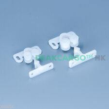JAPAN White Strike Rotary Knuckle Catch Doors Cupboards Cabinets Grabs Holds