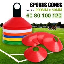NEW DISC MARKERS TRAINING CONES FOOTBALL SOCCER RUGBY AFL TOUCH GROUP FITNESS AU